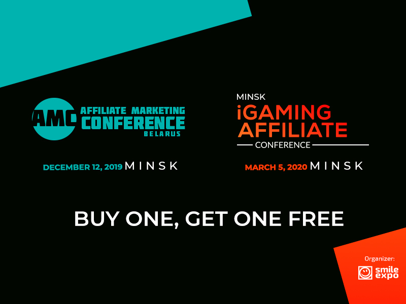 2 in 1 Combo: One Ticket for Two Affiliate Conferences in Minsk