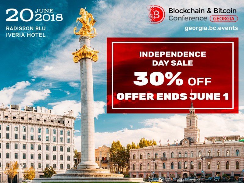 30% discount on tickets due to Georgia's Independence Day