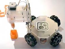 3&Dbot – первый 3D-принтер на колесах