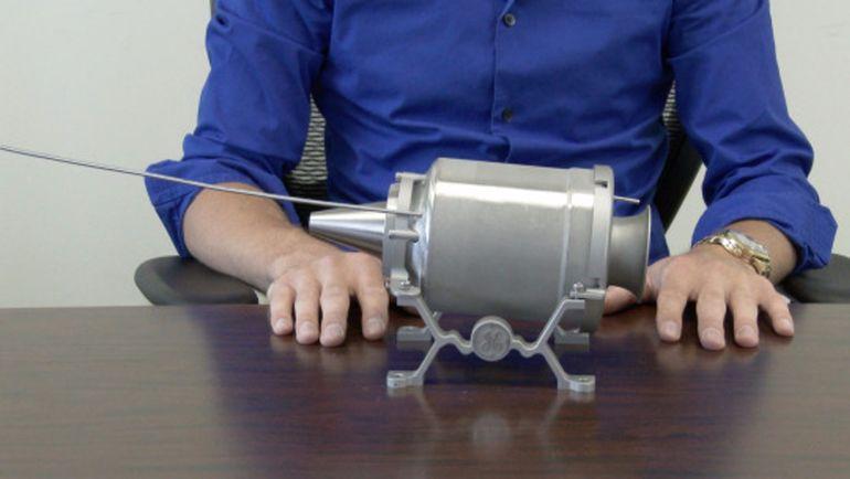 3D-напечатанный реактивный двигатель