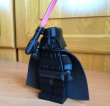 Barnacules Shows Netfabb's Utility by 3D Printing Giant Lego Darth Vader