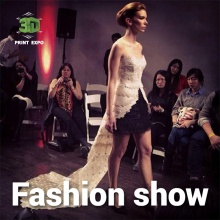 3D printing and fashion: 3D fashion days at 3D Print Expo