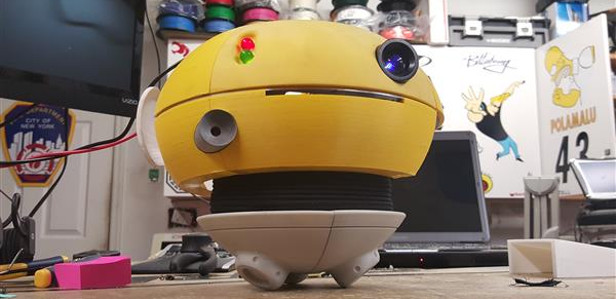 3D-печать позволит создать функциональную копию робота из фильма «Флаббер»