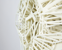 3D printed column - symbol of the new opportunities in architecture