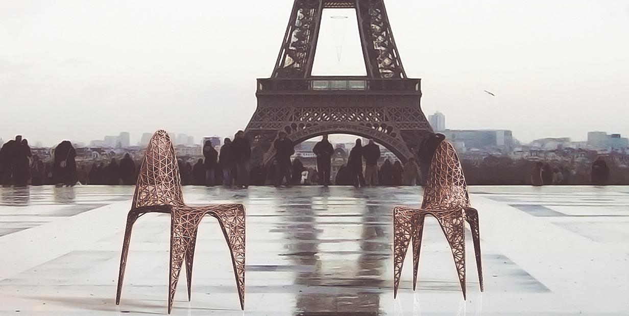3D-печатная мебель француза Эммануила Турэйна