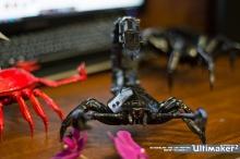 3D-печатные насекомые и паукообразные: невероятный скорпион Сергея Колесника