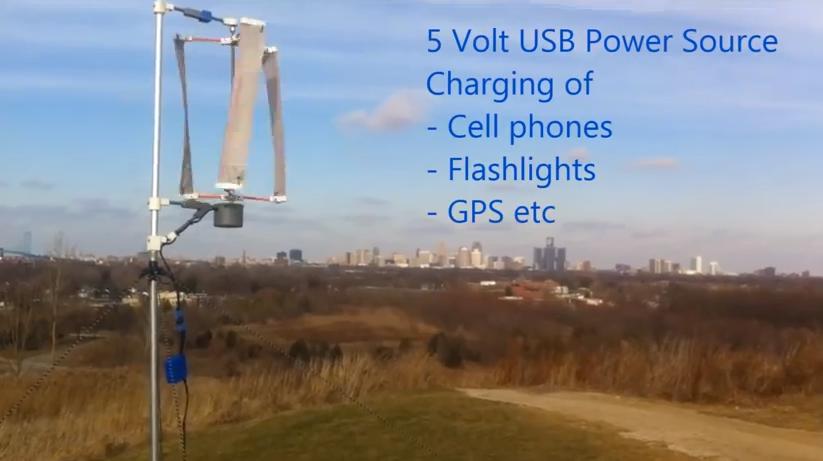 3D-печатные ветрогенераторы для использования в удаленной местности