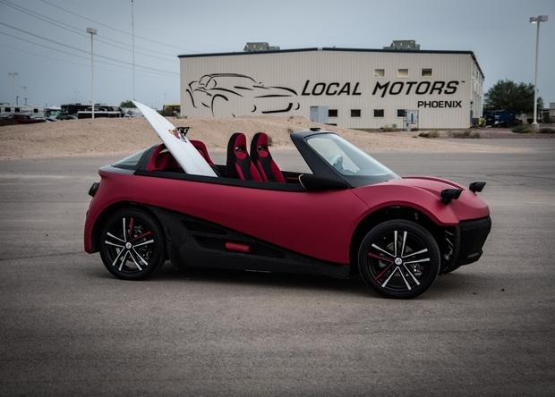 3D-печатное авто ожидает серийного выпуска в следующем году