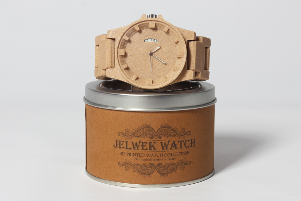 This Company 3D Prints Wooden Watches