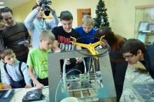 3D принтер SibRap в Новосибирской библиотеке