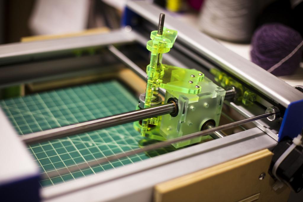 3D-принтер теперь использует 10 материалов для печати