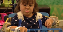 "Helping Hannah: 3D printer brings ""Magic Arms"" to a four-year-old"