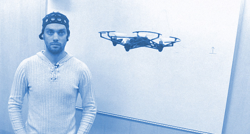 3D scanner and neurogear: new methods of controlling drones