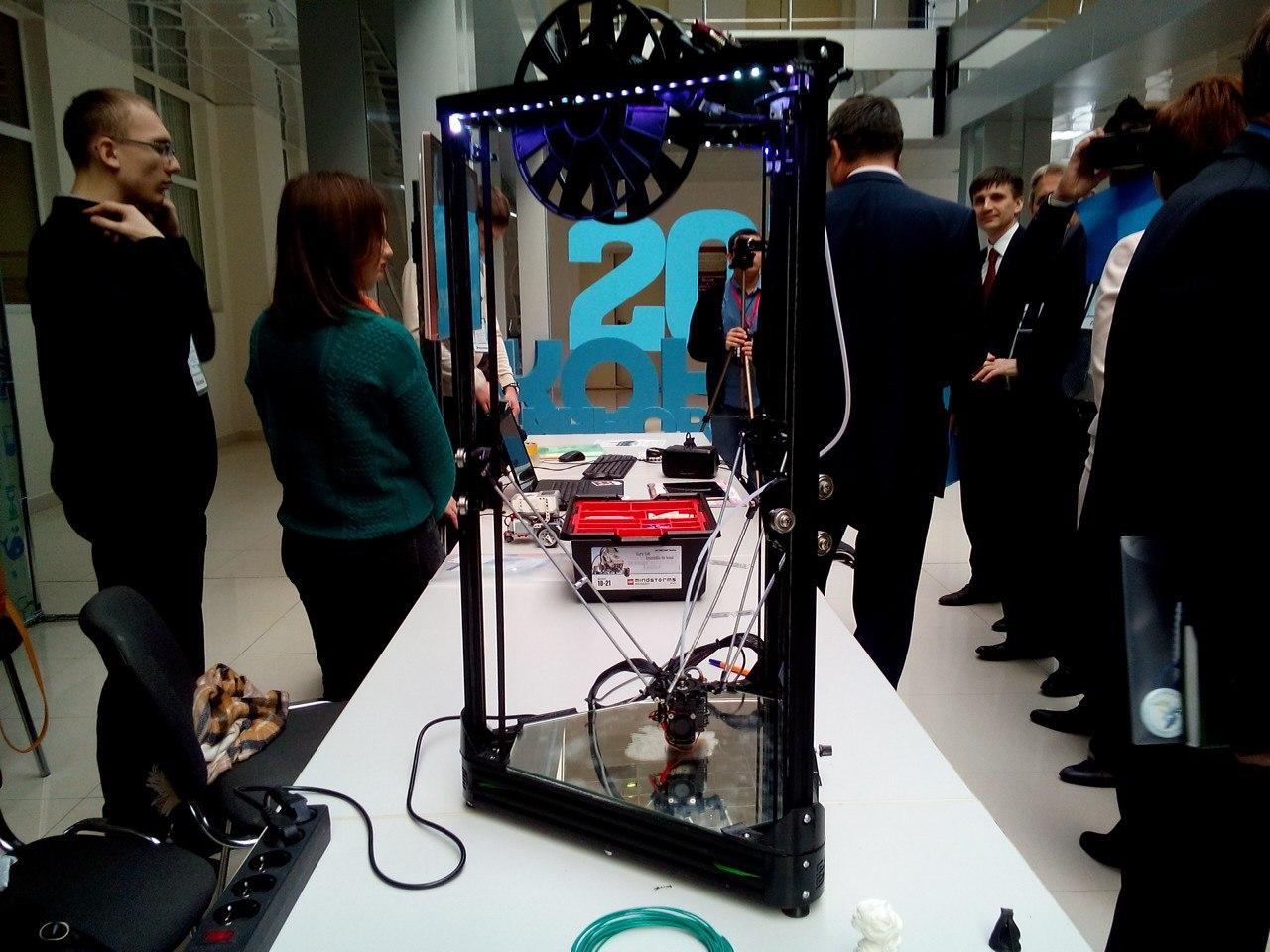 7 достоинств 3D-дельта-принтера «Эрьзя», созданного российским студентом