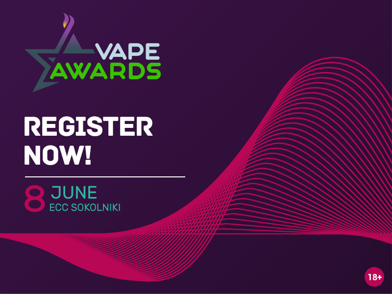 A little time left until VAPE Awards voting starts. Hurry up to register!
