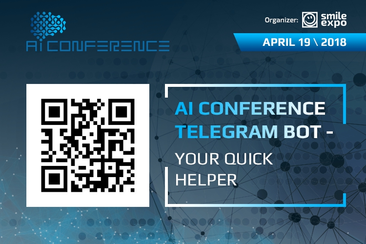 AI Conference speaker has developed Telegram bot to help organizers