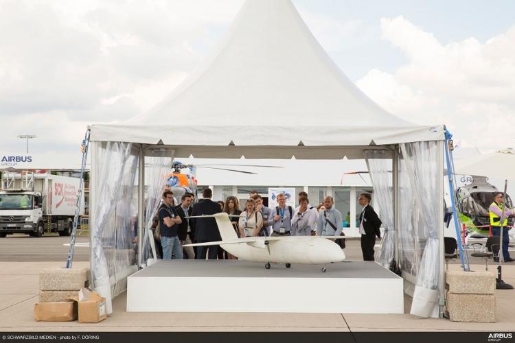 Airbus представила четырехметровый 3D-печатный дрон