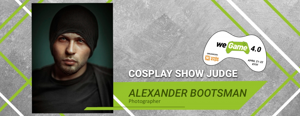 Alexander Bootsman, well-known photographer, to be a judge of WEGAME 4.0 cosplay show