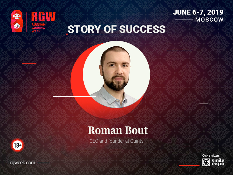 """""""All changes in the gambling industry are for the better and the strongest will win,"""" CEO of Quints Roman Bout"""