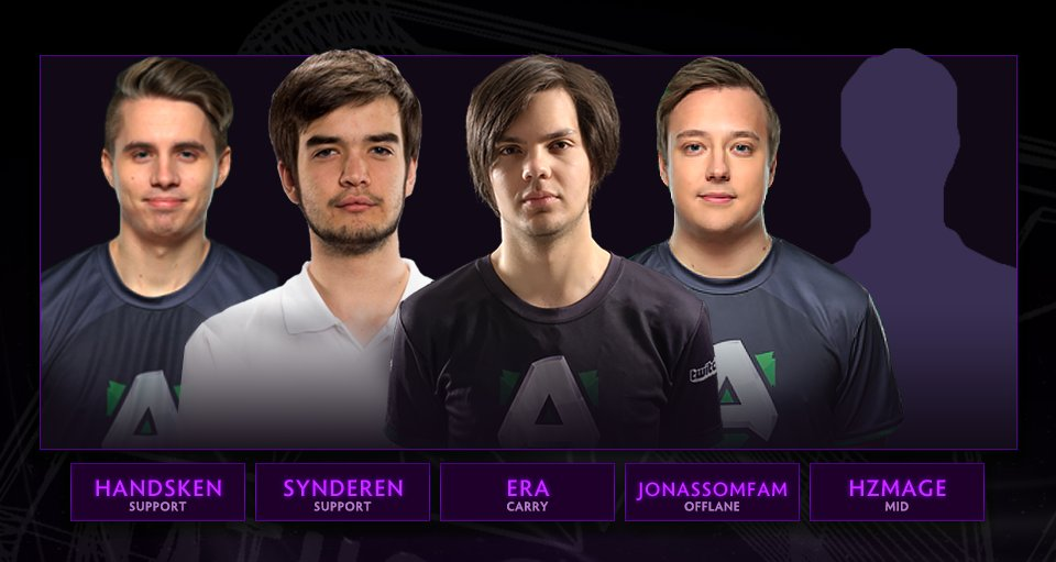Alliance former players organize new Dota 2 team