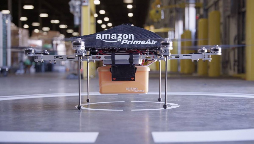 Amazon is planning to produce talking drones. They already got a development patent