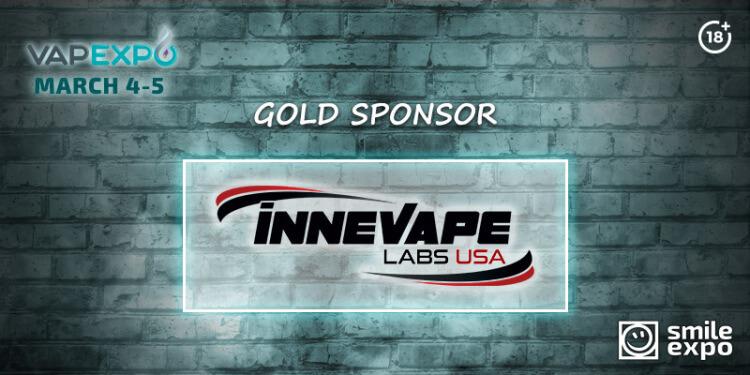 American Innevape company is gold sponsor of VAPEXPO Kiev 2017!