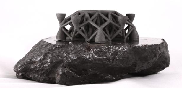 Американские инженеры создали на 3D-принтере статуэтку из метеоритного железа