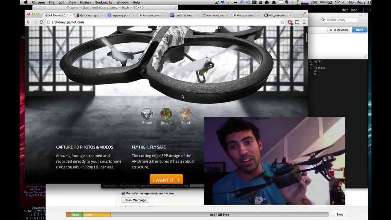 Американский хакер создал программу для захвата дронов