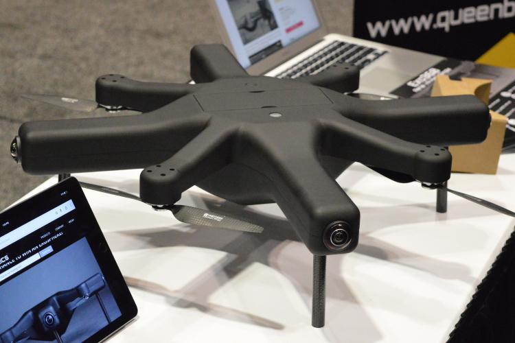 Американцы разрабатывают дрон для записи панорамного 360-градусного видео