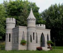 Андрей Руденко построил первый в мире 3D-печатный замок