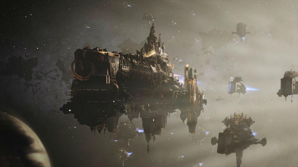 Анонс и CGI-трейлер долгожданной новинки для PC Battlefleet Gothic: Armada 2