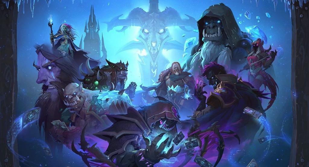 Апдейт «Рыцари ледяного трона» для Hearthstone выходит на этой неделе!