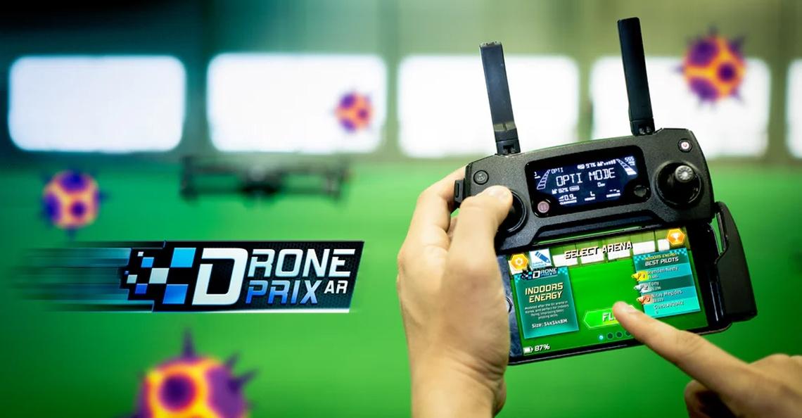 AR-игра для дронов – Drone Prix