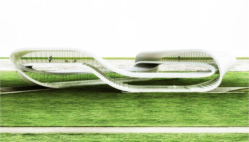 Архитектор собирается построить дом в форме ленты Мёбиуса с помощью 3D-принтера