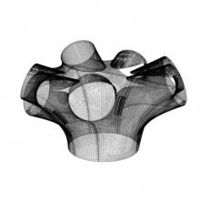 Архитектор впервые использовал 3D-принтер для отделки помещения