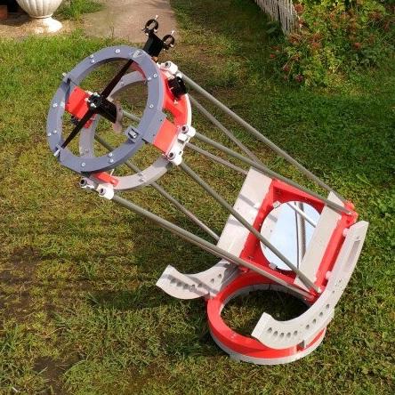 Астроном-любитель из Питера напечатал себе компактный и мощный телескоп
