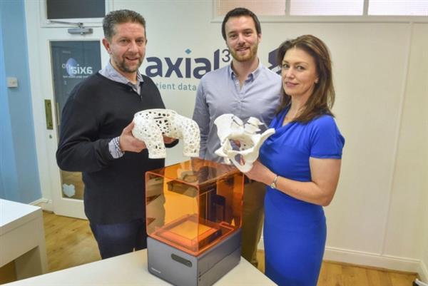 Axial 3D получила $450 тыс. для развития ортопедического моделирования