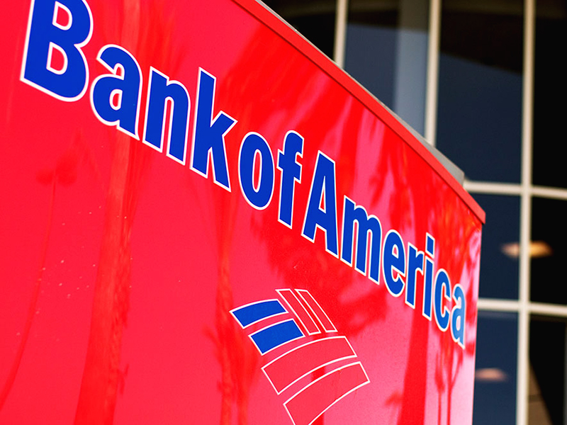 Bank of America to process data using blockchain system