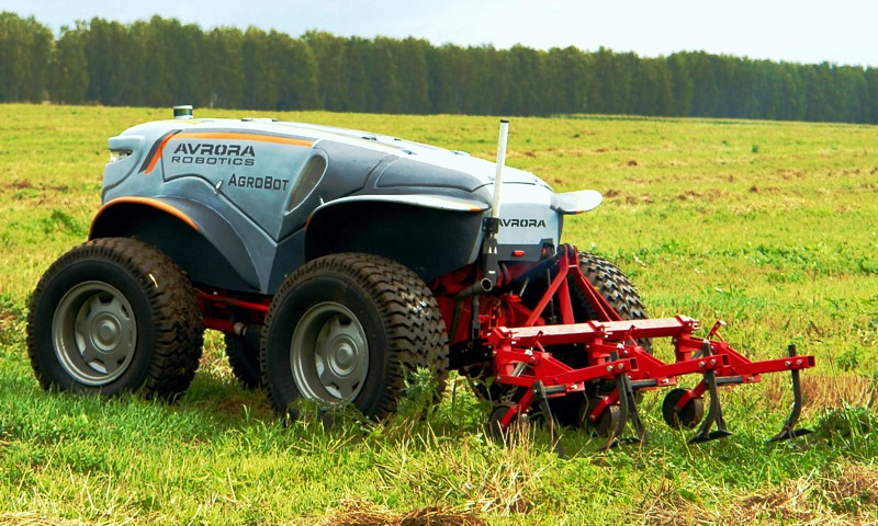 Driverless tractor Agrobot has successfully passed all tests