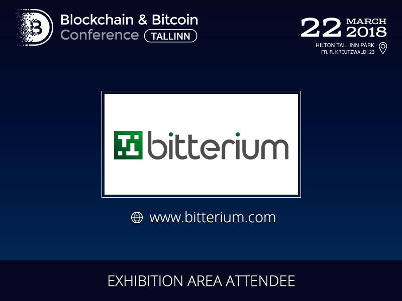 Bitterium will present mining products at Blockchain & Bitcoin Conference Tallinn