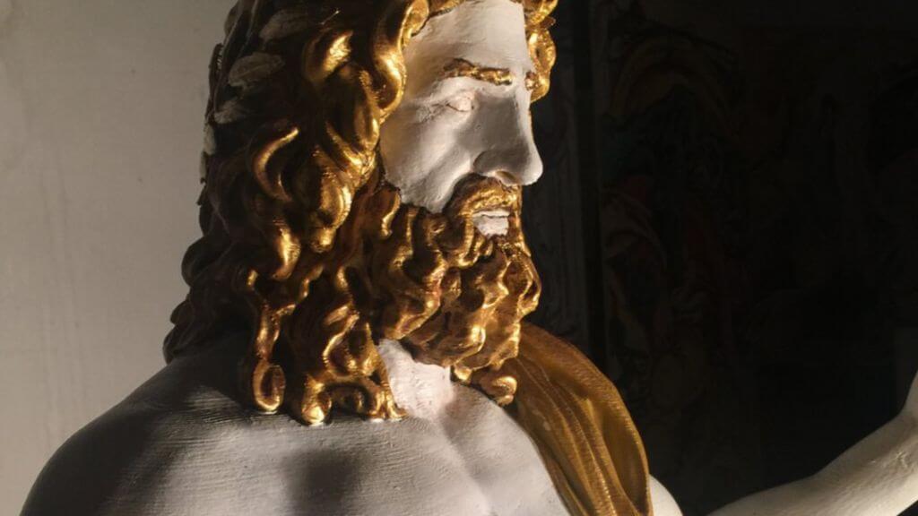 Благодаря 3D-печати культовая статуя Зевса Олимпийского «восстала изпепла»