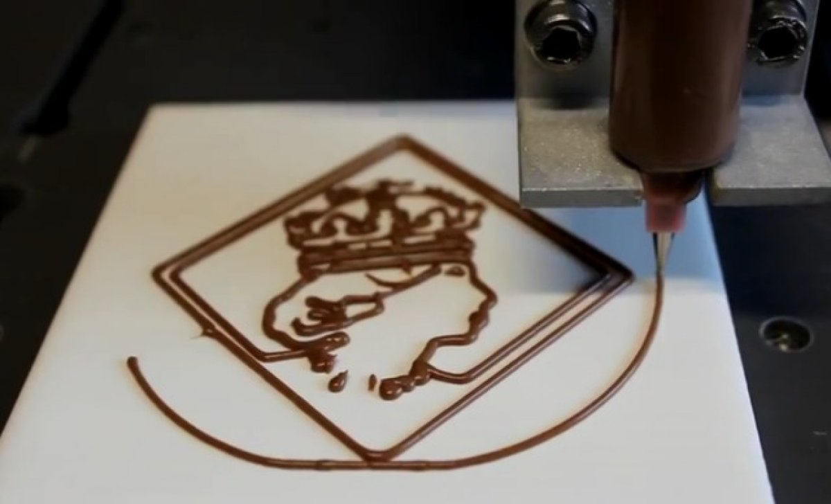 "Benefit café, ""chocolate"" 3D printer and three gadgets: food industry surprises"