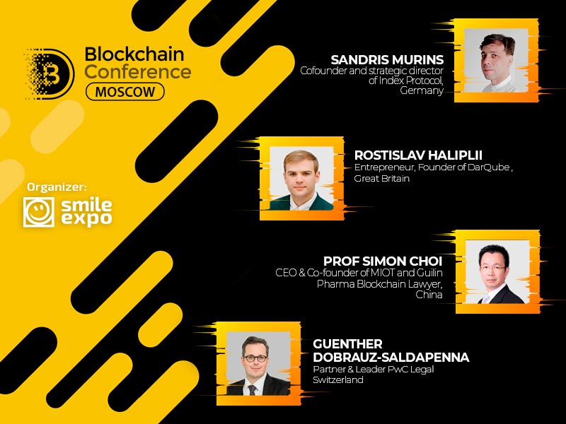Blockchain Conference Moscow gathersworld-class experts