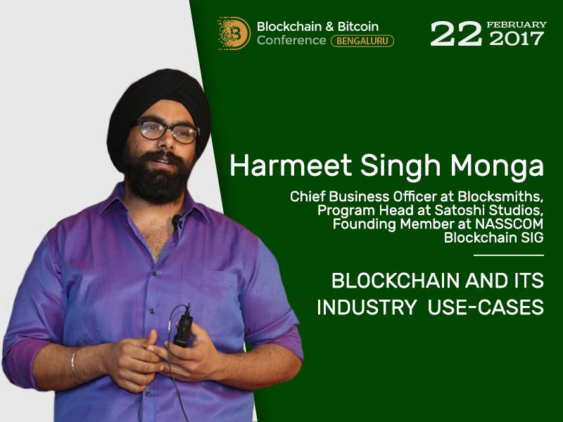 Blockchain use-cases: presentation by blockchain evangelist – Harmeet Singh Monga