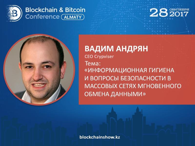 Блокчейн-сети и конфиденциальность. Доклад основателя Crypviser Вадима Андряна