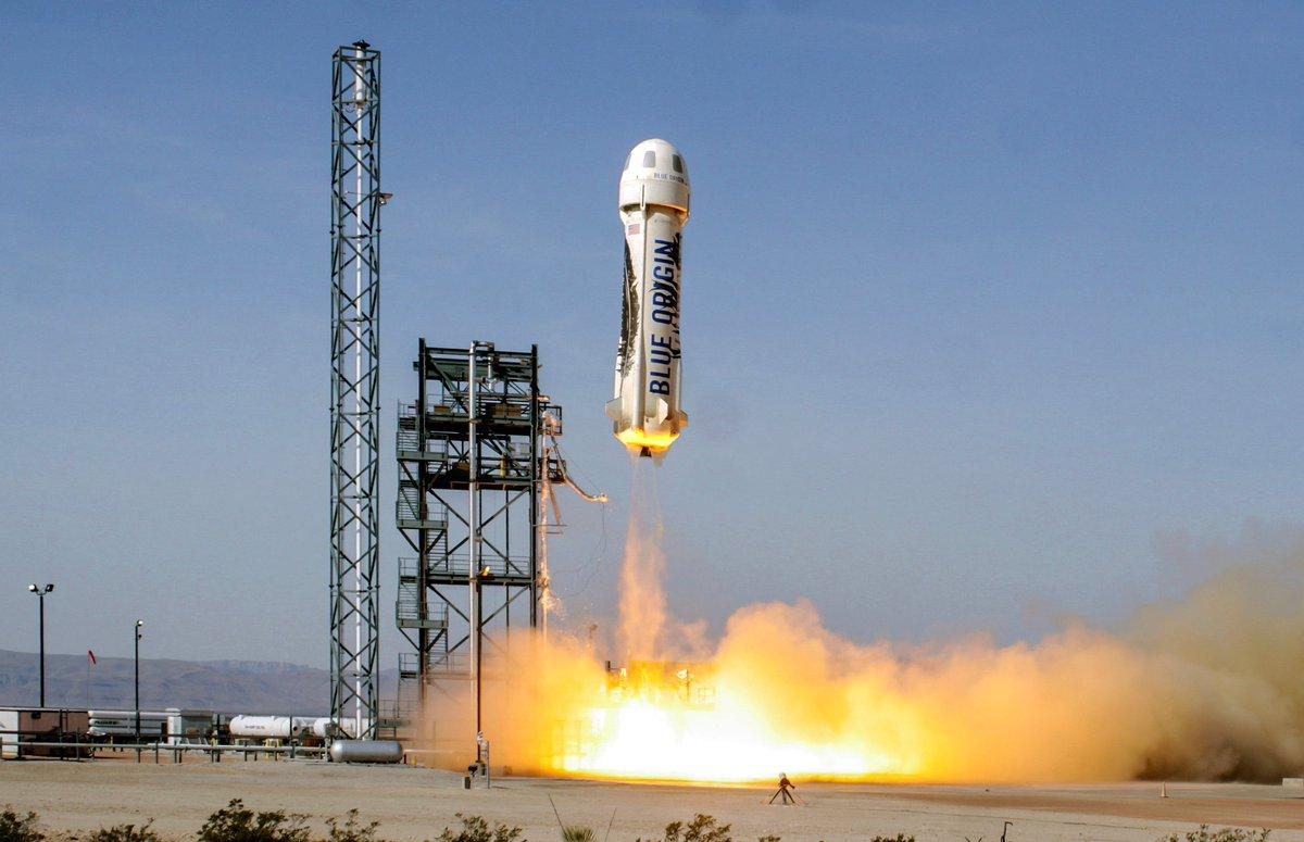 Blue Origin создает двигатели для ракет с 3D-печатными деталями
