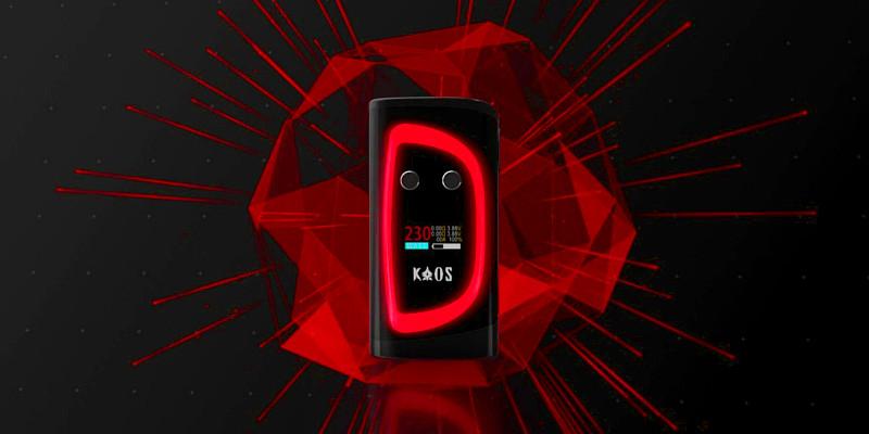 Боксмод Kaos Spectrum від Sigelei – інновація в галузі дизайну