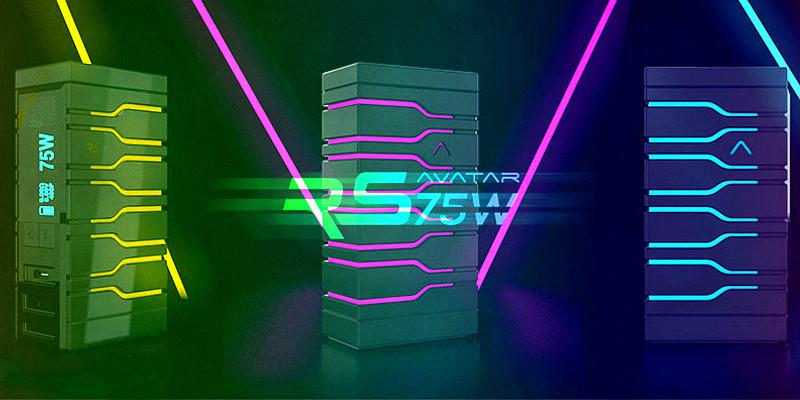 Боксмод-радуга – Avatar Rs 75w на плате DNA 75