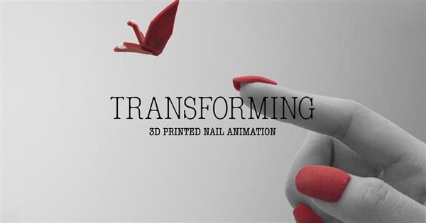 Watch over 500 3D printed nails 'Transform' in Japanese stop-motion film