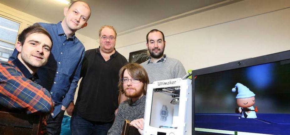 Британцы будут печатать на 3D-принтере героев популярных игр